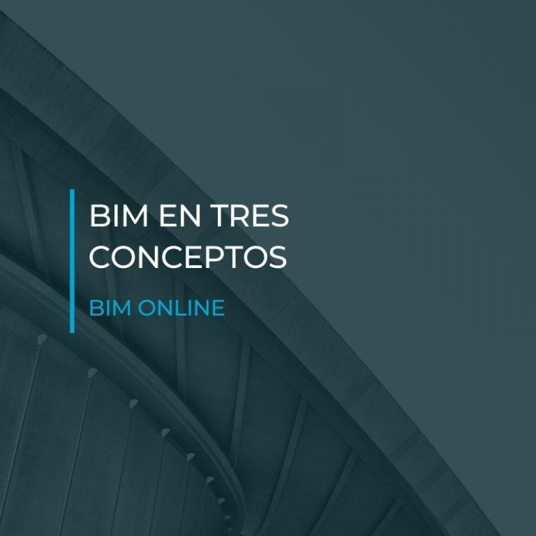 BIM en tres conceptos - BIM ONLINE